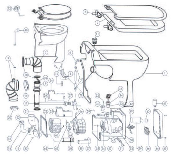 Upflushers Parts